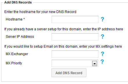 Adding a domain into SafeDNS